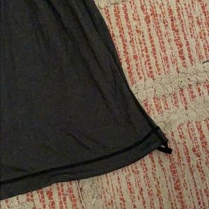 lululemon athletica Tops - Gray black LULULEMON Tank Top Size 6